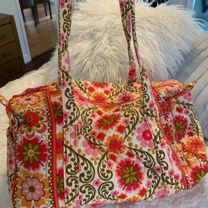 Vera Bradley Small Duffle - EXCELLENT condition